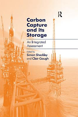 Carbon Capture and its Storage