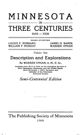 Description and explorations, by W. Upham
