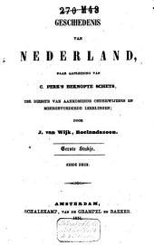 Geschiedenis van Nederland naar aanl. van C. Perk's Beknopte schets: Volume 1