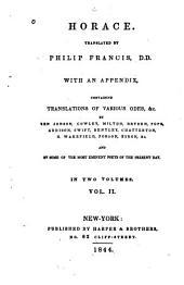 Horace: Volume 2