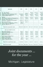 Joint Documents ... for the Year ...: Part 4