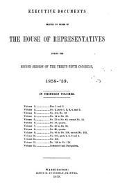 House Documents: Volume 112; Volume 121