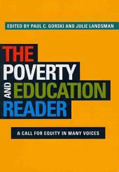 The Poverty and Education Reader: A Call for Equity in Many Voices