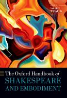 The Oxford Handbook of Shakespeare and Embodiment PDF