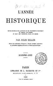 L'Année historique, ou, Revue annuelle des questions et des événements politiques en France, en Europe et dans les principaux états du monde: Livre2