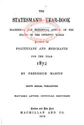 The Statesman's Year-book: Volume 9