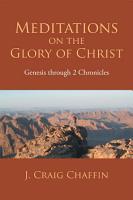 Meditations on the Glory of Christ PDF