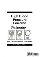 High Blood Pressure Lowered Naturally PDF