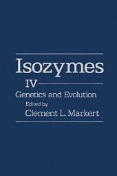 Isozymes V4: Genetics and Evolution