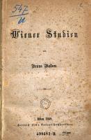 Wiener Studien PDF