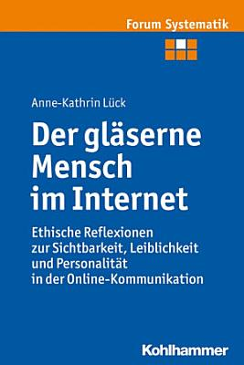 Der gl  serne Mensch im Internet PDF