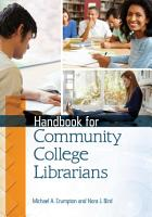 Handbook for Community College Librarians PDF