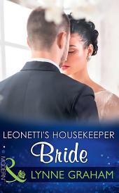 Leonetti's Housekeeper Bride (Mills & Boon Modern)