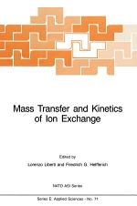 Mass Transfer and Kinetics of Ion Exchange