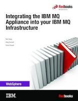 Integrating the IBM MQ Appliance into your IBM MQ Infrastructure PDF