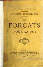 Les forçats pour la foi: étude historique (1684-1775)