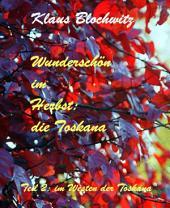 Wunderschön im Herbst: die Toskana: Teil II: Im Westen der Toskana