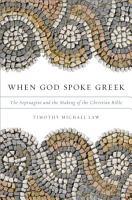 When God Spoke Greek PDF