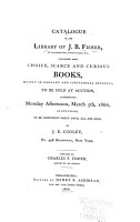 Catalogue of the Library of J B  Fisher PDF