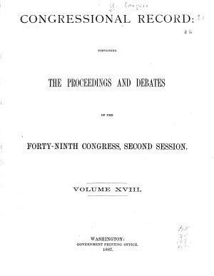 Congressional Record Index