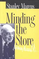 Minding the Store PDF