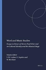 Word and Music Studies PDF