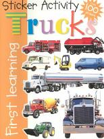 Sticker Activity Trucks PDF