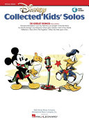 Disney Collected Kids' Solos (Songbook)
