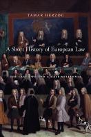 A Short History of European Law PDF