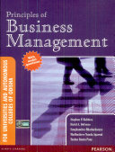 Principles of Business Management  For Universities and Autonomous Colleges of Odisha