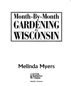 Month by month Gardening in Wisconsin PDF