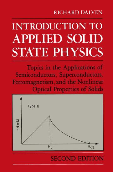 Introduction to Applied Solid State Physics PDF