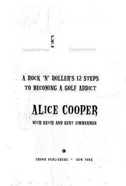 Alice Cooper  Golf Monster PDF