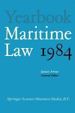Yearbook Maritime Law