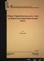 Public Video Surveillance PDF