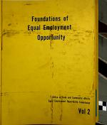 The Foundations of Equal Employment Opportunity