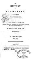 The History of Hindostan PDF