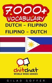 7000+ Dutch - Filipino Filipino - Dutch Vocabulary