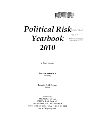 Political Risk Yearbook   2010 PDF