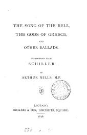 The Song of the bell: the Gods of Greece and other ballads