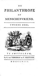 De philanthrope of menschenvriend: Volume 2