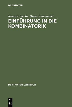 Einf  hrung in die Kombinatorik PDF