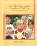 Early Childhood Special Education  0 to 8 Years PDF