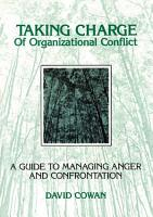 Taking Charge of Organizational Conflict PDF