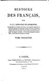 Histoire des Français: Volume3