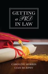 Getting a PhD in Law