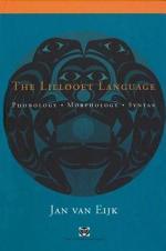 The Lillooet Language