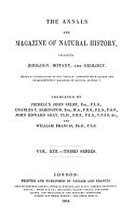 The annals and magazine of natural history  zoology  botany and geology PDF