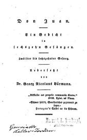 Lord Byron's sämmtliche Werke: Ausgabe mit 26 Stahlstichen. Don Juan : 12. bis 16. Gesang ; Mit 1 Stahlstich, Teil 7