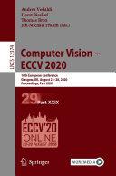 Computer Vision - ECCV 2020